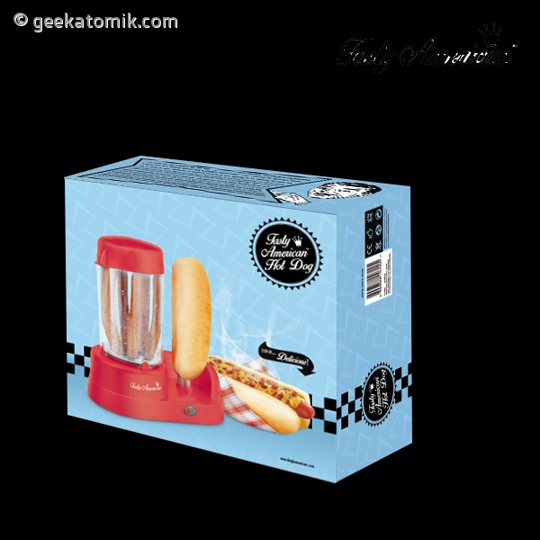 Appareil pour cuire des hot dog geekatomik for Appareil a cuire
