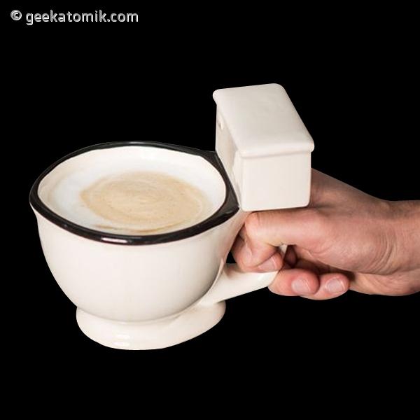 Tasse c ramique en forme de si ge des toilettes geekatomik - Siege en forme de main ...
